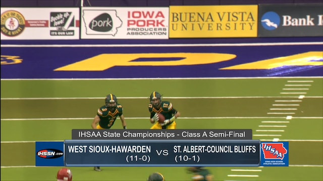 2017 Football A Semifinal Highlights - West Sioux vs. St. Albert, CB