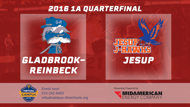 2016 Basketball 1A Quarterfinal Gladb...