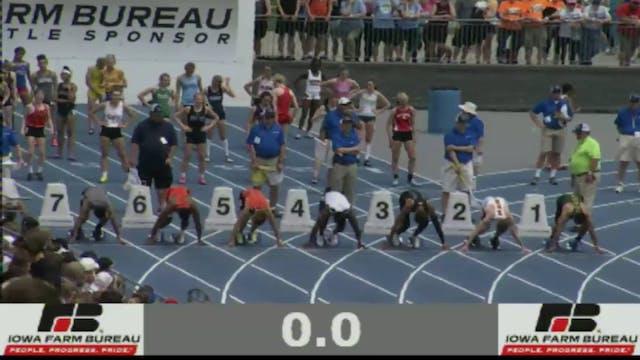 Boys 100 Meter Dash 4A Final