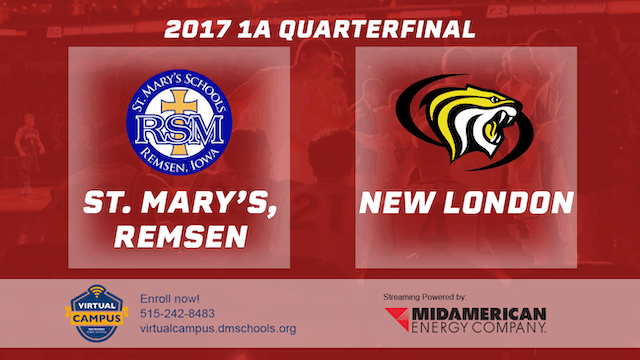 2017 Basketball 1A Quarterfinal (St. ...
