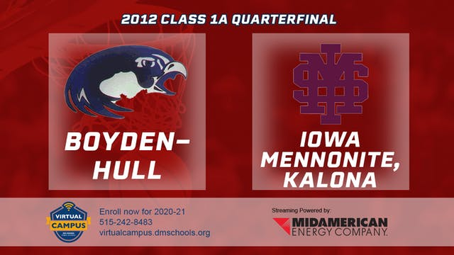 2012 Basketball 1A Quarterfinal - Boy...