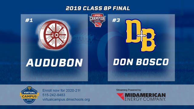 2019 8 Player Football Finals: Audubo...