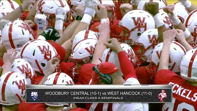 Game Recap - Class A Semifinal West Hancock vs.Woodbury Central - ft. Max Herz
