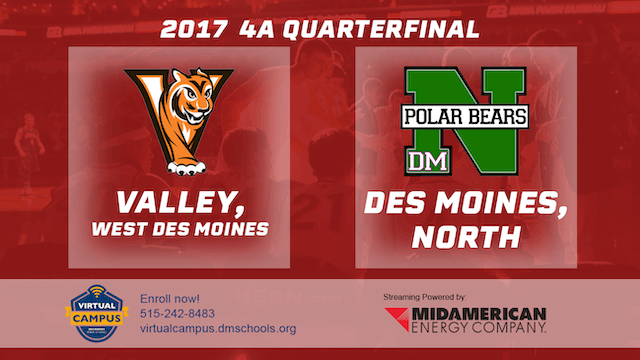 2017 Basketball 4A Quarterfinal (Vall...