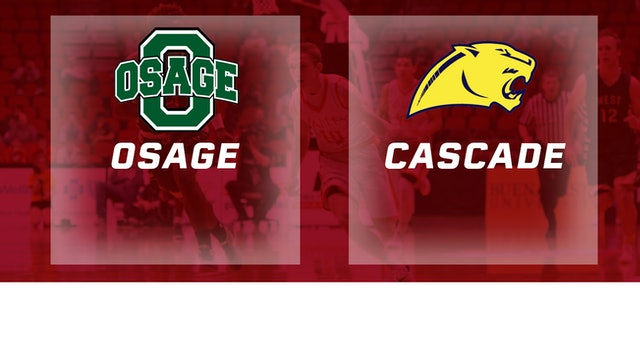 2016 Basketball 2A Quarterfinal Osage vs. Cascade