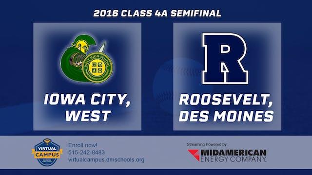 2016 Baseball 4A Semifinal - Iowa Cit...