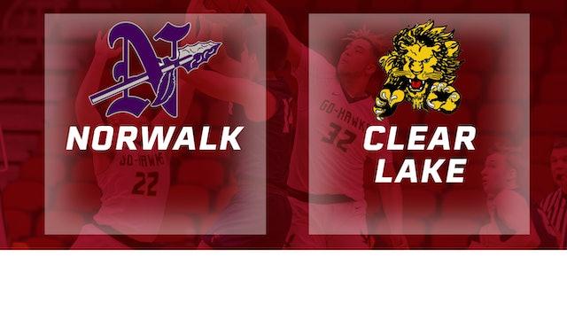 2019 Basketball 3A Semifinal - Norwalk vs. Clear Lake