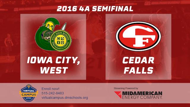 2016 Basketball 4A Semifinal Iowa Cit...