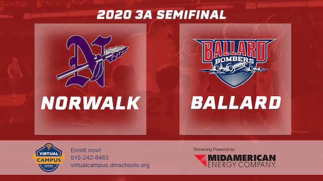 2020 Basketball 3A Semifinal - Norwal...