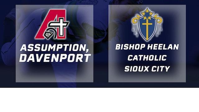 2018 Baseball 3A Semifinals - Assumption, Davenport vs. Bishop Heelan Catholic