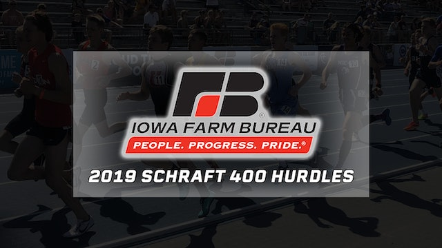 Farm Bureau Flashback - Janette Schraft wins 400 meter hurdles in 2019