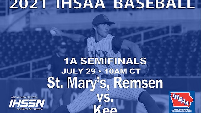 2021 1A Semifinals - St. Mary's vs. Kee