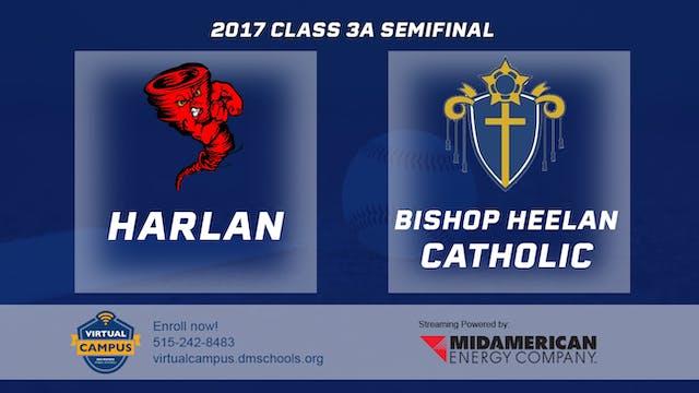 2017 Baseball 3A Semifinal - Harlan v...