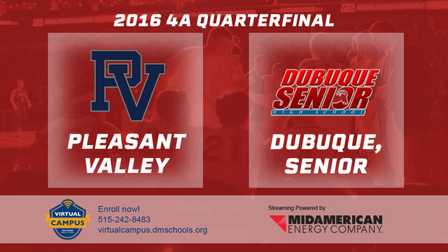 2016 Basketball 4A Quarterfinal Pleas...