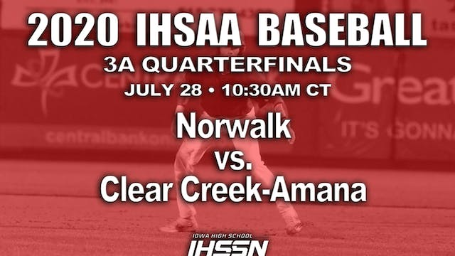 3A QF - Norwalk vs. Clear Creek-Amana
