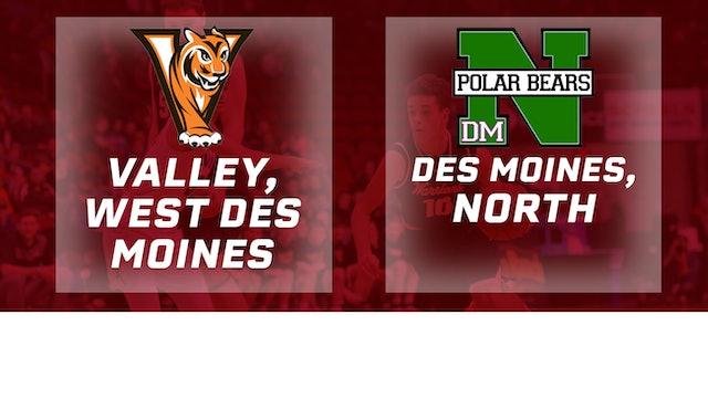 2017 Basketball 4A Quarterfinal (Valley, West Des Moines vs. Des Moines, North)
