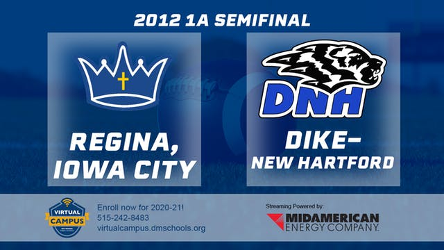 2012 Football 1A Semifinal - Regina, ...