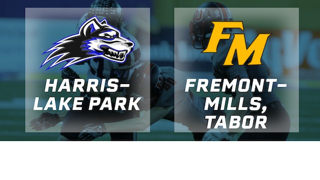 2016 Football 8-Player Semifinal - Harris-Lake Park vs. Fremont-Mills, Tabor