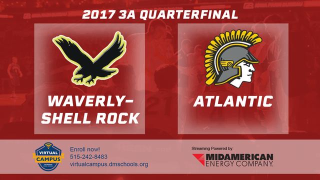 2017 Basketball 3A Quarterfinal (Waverly-Shell Rock vs. Atlantic)