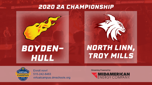 2020 2A Basketball Finals: Boyden-Hul...