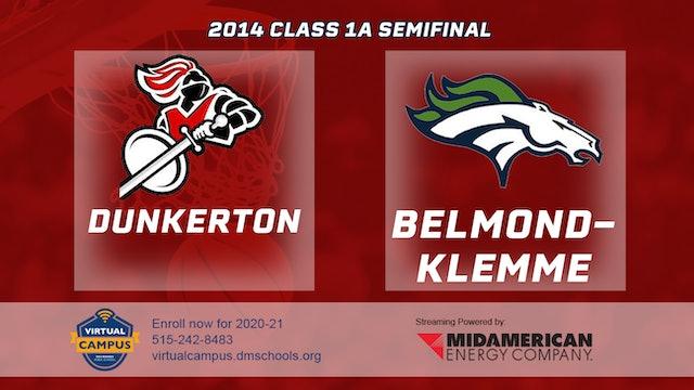 2014 Basketball 1A Semifinal - Dunkerton vs. Belmond-Klemme