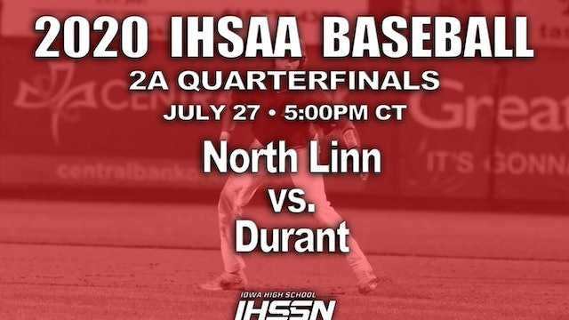 2A QF - North Linn, Troy Mills vs. Durant