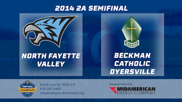 2014 Football 2A Semifinal North Faye...