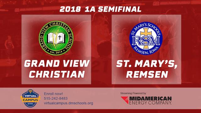 2018 Basketball Class 1A Semifinal (G...