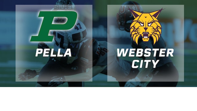 2016 Football 3A Final - Pella vs. Webster City