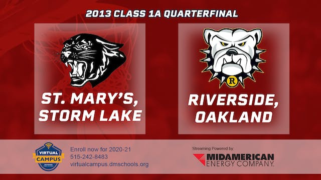 2013 Basketball 1A Quarterfinal - St....
