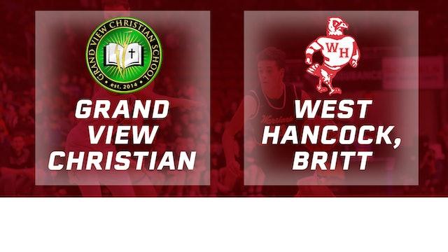 2017 Basketball 1A Quarterfinal (Grand View Christian vs. West Hancock, Britt)