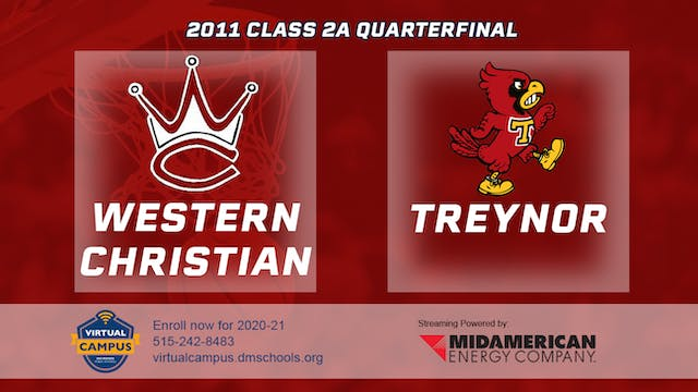 2011 Basketball 2A Quarterfinal - Wes...
