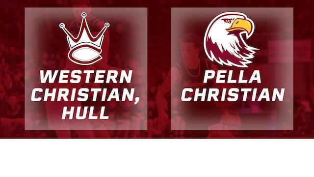 2017 Basketball 2A Championship (Western Christian, Hull vs. Pella Christian)