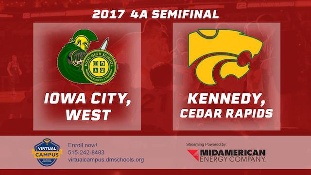 2017 4A Basketball Semi Finals: Iowa ...