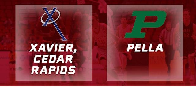 2016 Basketball 3A Semifinal Xavier, Cedar Rapids vs. Pella