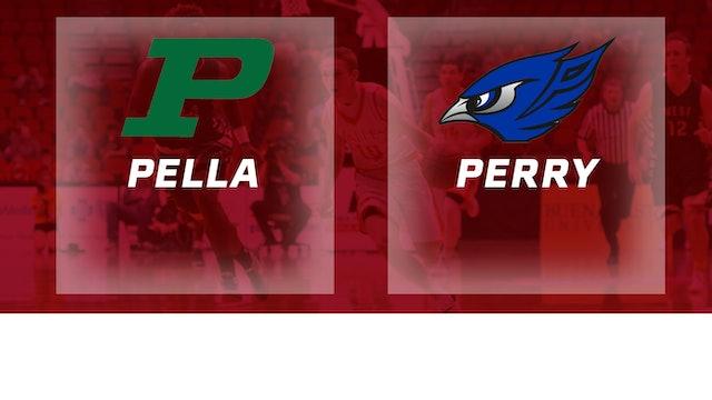 2016 Basketball 3A Quarterfinal Pella vs. Perry