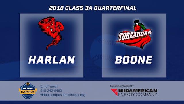 2018 Baseball 3A Quarterfinal - Harla...