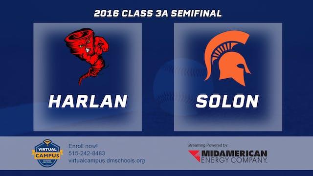 2016 Baseball 3A Semifinal - Harlan v...
