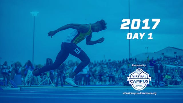 2017 Track & Field Day 1
