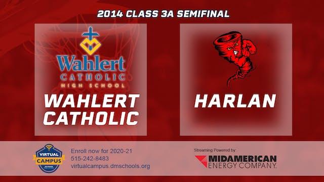 2014 Basketball 3A Semifinal - Wahler...