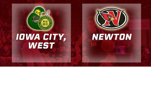 2017 Basketball 4A Quarterfinal (Iowa City, West vs. Newton )