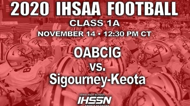 OABCIG 43 vs Sigourney/Keota 21 - 1A ...