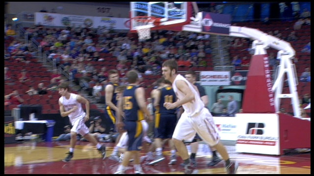 2015 Basketball 2A Final Highlights - Treynor vs. Regina