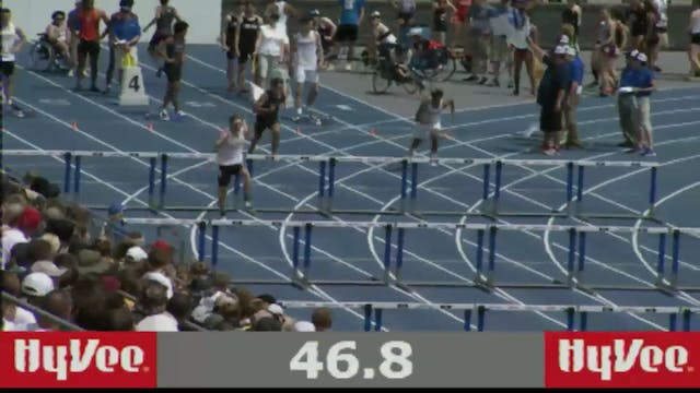 Boys Shuttle Hurdle Relay 4A Final Se...