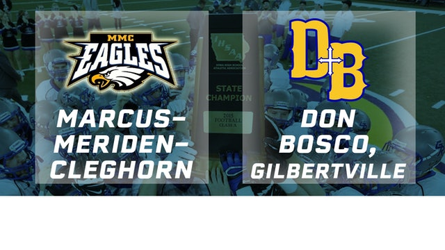 2015 Football 8-Player Championship - Marcus-Meriden-Claghorn vs. Don Bosco