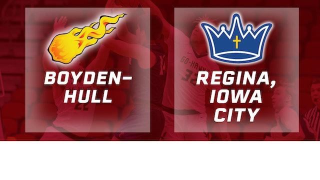 2019 Basketball 2A Quarterfinal - Boyden-Hull vs. Regina, Iowa City