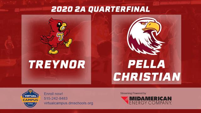 2020 Basketball 2A Quarterfinal - Tre...