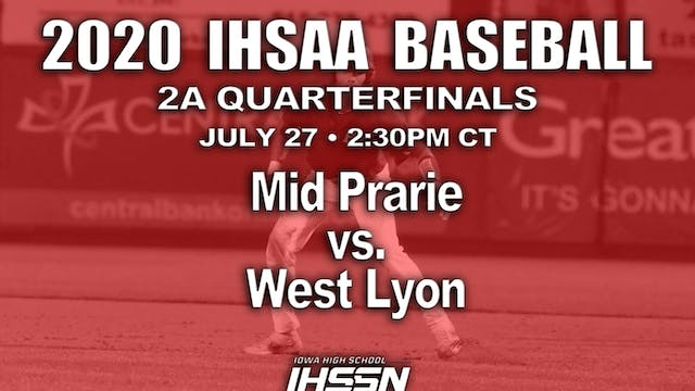2A QF WEST LYON vs, MID-PRAIRIE