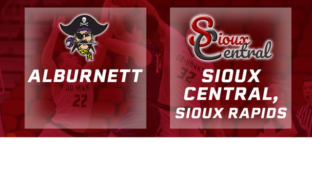 2019 Basketball 1A Quarterfinal - Alburnett vs. Sioux Central, Sioux Rapids