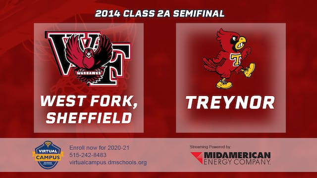 2014 Basketball 2A Semifinal - West F...